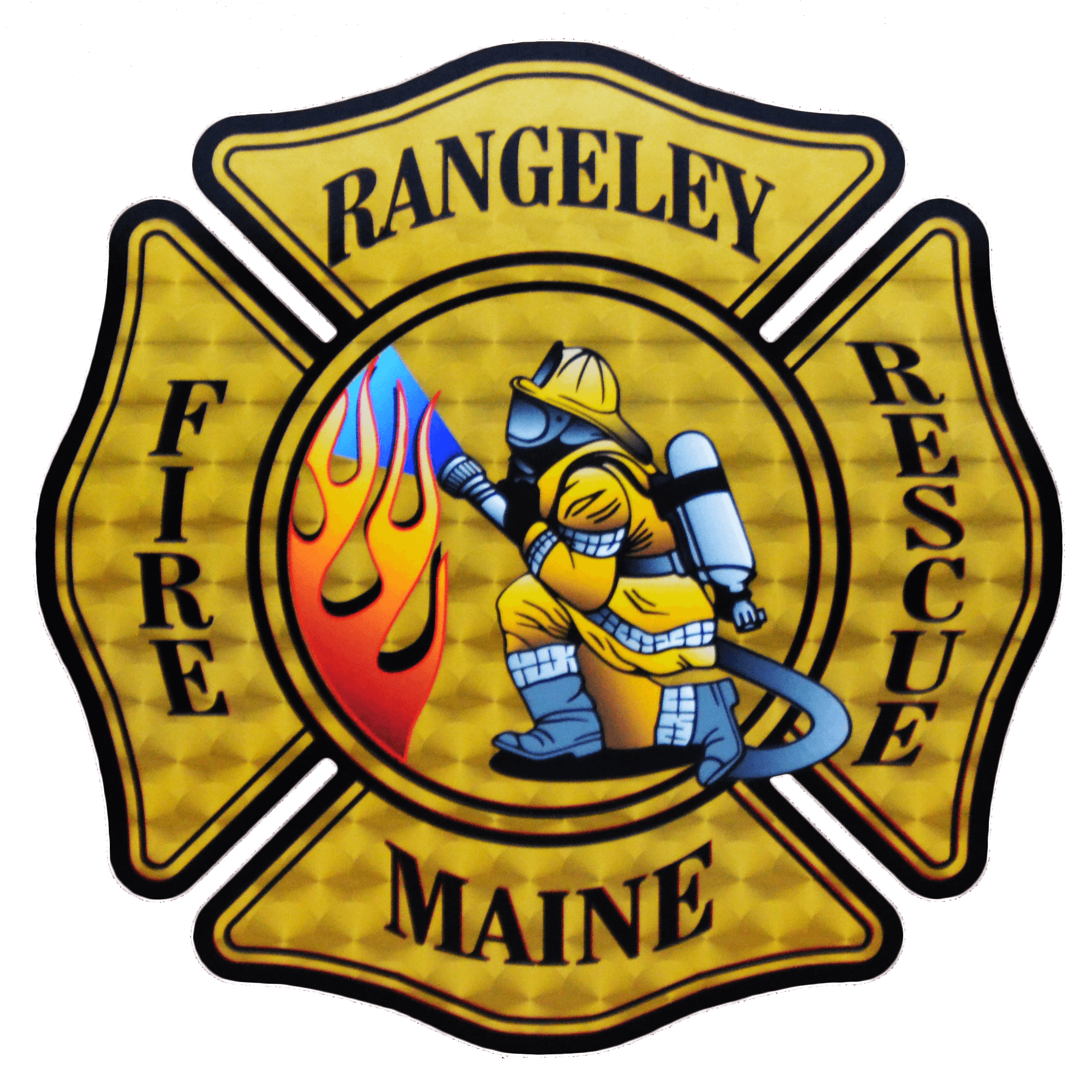 Cross of the Rangeley Fire and Rescue Department.